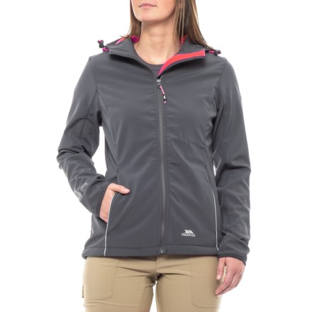 9164c0e1feb53 Trespass Suzanne Soft Shell Jacket (For Women) in Flint - Closeouts