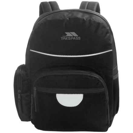 Trespass Swagger School Backpack (For Kids) in Black - Closeouts