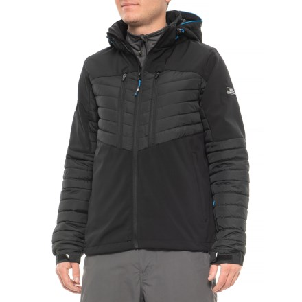 Trespass Traipse Ski Jacket - Insulated (For Men) in Black - Closeouts 64cc1cec5