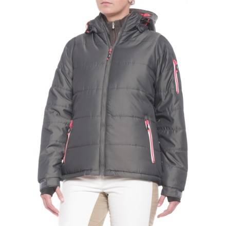 Trespass Wander Ski Jacket - Insulated (For Women) in Dark Silver -  Closeouts 397ec6892