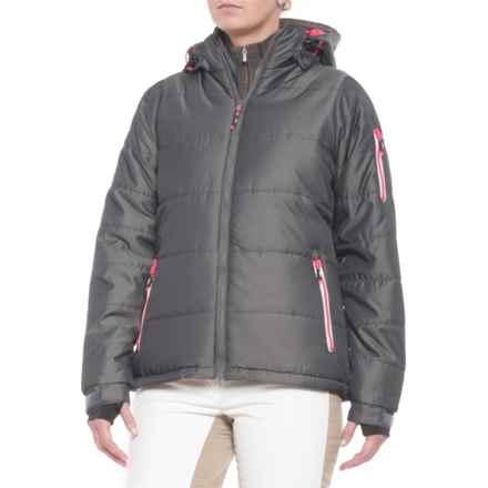 Trespass Wander Ski Jacket - Insulated (For Women) in Dark Silver - Closeouts