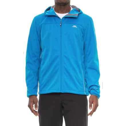 Trespass Zeek Soft Shell Jacket - Waterproof (For Men) in Bright Blue - Closeouts