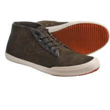 Tretorn Krona Mid Shoes - Leather (For Men) in Balsam Green - Closeouts
