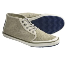 Tretorn Krona Mid Shoes - Leather (For Men) in Sailing Grey - Closeouts