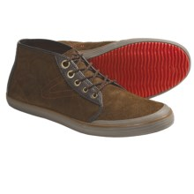 Tretorn Krona Mid Shoes - Leather (For Men) in Sundown Brown - Closeouts