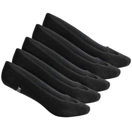 Tretorn Liner Socks - 5-Pack, Below the Ankle (For Women) in Black - Overstock