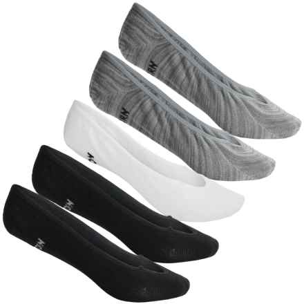 Tretorn Liner Socks - 5-Pack, Below the Ankle (For Women) in Grey/White/Black - Overstock