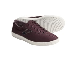 Tretorn Nylite Brodie Canvas Sneakers (For Women) in Sassafras Brown - Closeouts