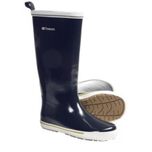 Tretorn Skerry Reslig Rubber Boots - Waterproof (For Women) in Navy Blue - Closeouts