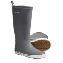 Tretorn Skerry Reslig Vinter Rubber Boots - Waterproof (For Women) in Charcoal Grey - Closeouts