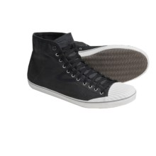 Tretorn Skymra Mid SL Canvas Shoes (For Men) in Phantom Black - Closeouts