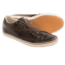 Tretorn Skymra Shoes - Leather (For Men) in Chocolate Brown - Closeouts