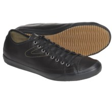 Tretorn Skymra SL Lace-Up Shoes - Leather (For Men) in Black - Closeouts