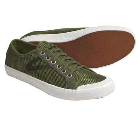 Tretorn T58 Mesh Canvas Sneakers (For Women) in Chive