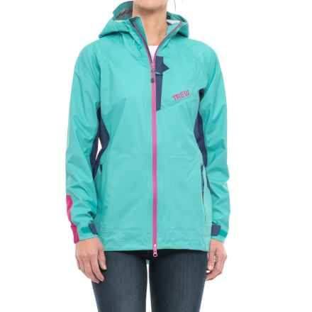 Trew Bewild Jacket - Waterproof (For Women) in Aquamarine - Closeouts