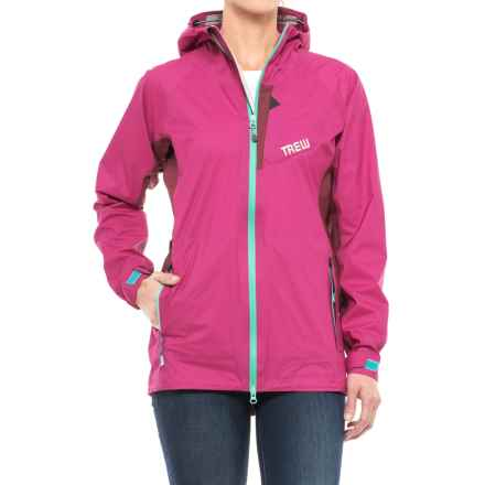 Trew Bewild Jacket - Waterproof (For Women) in Raspberry - Closeouts