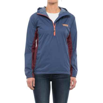 Trew Jacket - Zip Neck (For Women) in Indigo - Closeouts