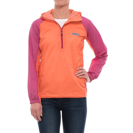 Trew Jacket - Zip Neck (For Women) in Push Pop