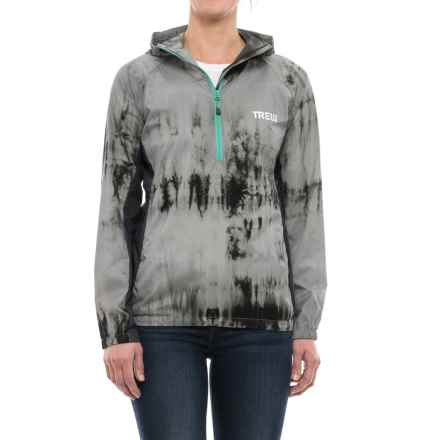Trew Jacket - Zip Neck (For Women) in Tie Dye - Closeouts