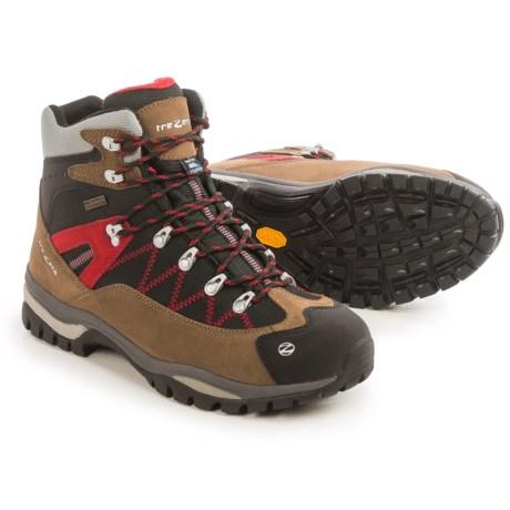 Trezeta Adventure Hiking Boots - Waterproof (For Men) in Caribou/Red