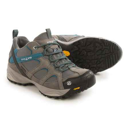 Trezeta Amelie EVO Low Trail Shoes - Waterproof (For Women) in Grey/Octane - Closeouts