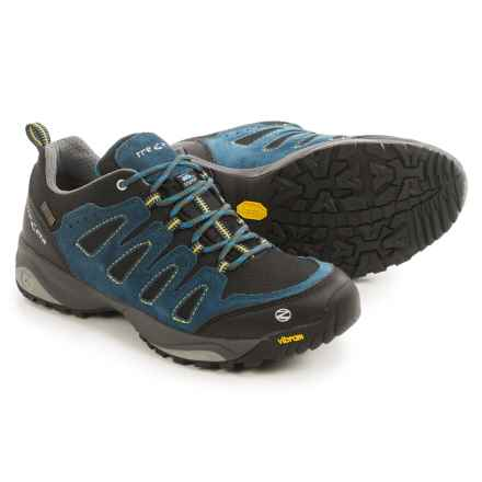 Trezeta Chinook Low Hiking Shoes - Waterproof (For Men) in Dark Blue/Black - Closeouts