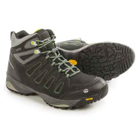 Trezeta Chinook Mid Hiking Boots - Waterproof (For Men) in Anthracite/Lime - Closeouts