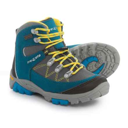 Trezeta Cyclone Hiking Boots - Waterproof (For Little Boys) in Blue - Closeouts