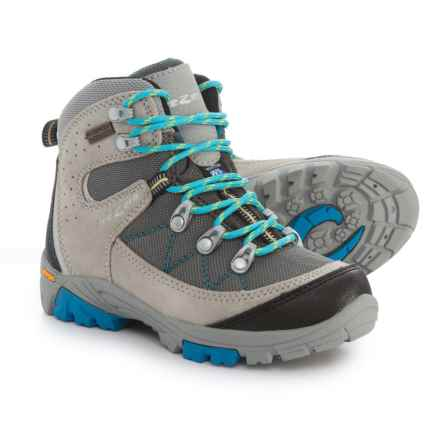 Trezeta Cyclone Hiking Boots - Waterproof (For Little Boys) in Grey - Closeouts