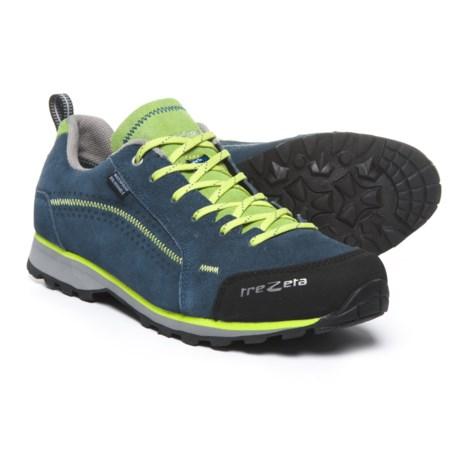 Trezeta Flow Hiking Shoes - Waterproof (For Men) in Blue/Green
