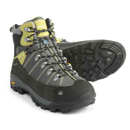 Trezeta Inca Hiking Boots - Waterproof (For Men) in Anthracite/Acid Green - Closeouts