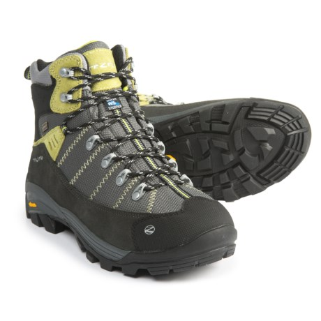 Trezeta Inca Hiking Boots - Waterproof (For Men) in Anthracite/Acid Green