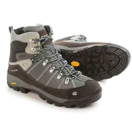 Trezeta Inca Hiking Boots - Waterproof (For Men) in Brown/Silver - Closeouts
