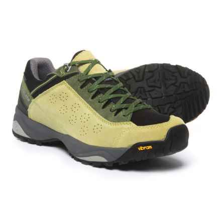 Trezeta Indigo Hiking Shoes - Waterproof (For Men) in Green/Black - Closeouts
