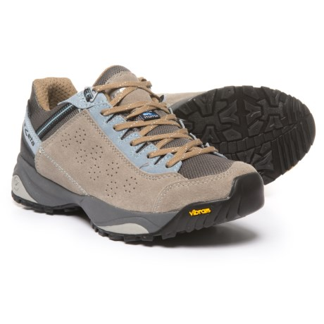 Trezeta Indigo Hiking Shoes - Waterproof (For Women) in Sand/Light Blue