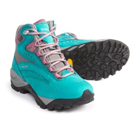 Trezeta Juliette EVO Hiking Boots - Waterproof, Nubuck (For Women) in Dark Green
