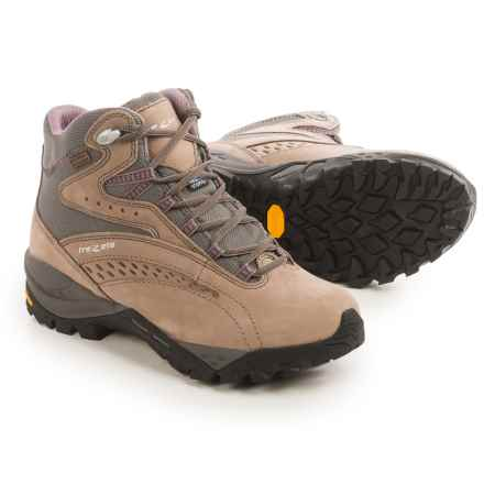 Trezeta Juliette EVO Hiking Boots - Waterproof, Nubuck (For Women) in Drakkar/Pink - Closeouts