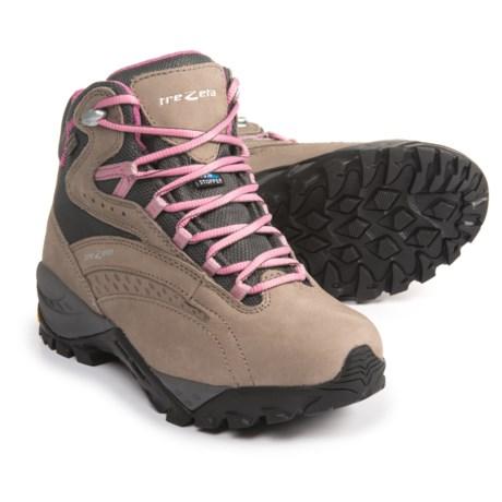 Trezeta Juliette EVO Hiking Boots - Waterproof, Nubuck (For Women) in Drakkar/Violet