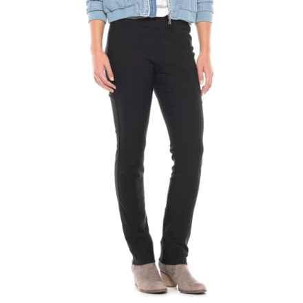 TRIBAL Flatten It Stretch Bengaline Pants (For Women) in Black - Closeouts