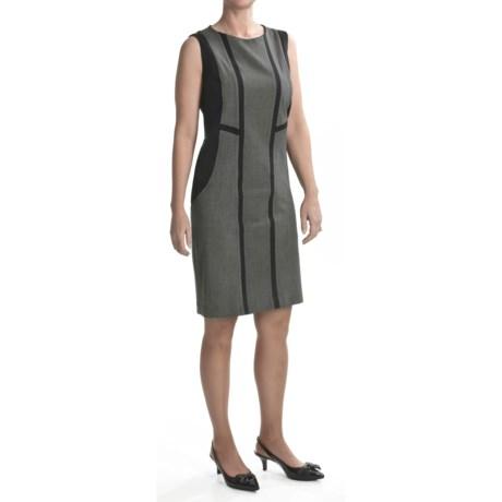 Tribal Sportswear Cut-Seam Dress - Sleeveless (For Women) in Carbon