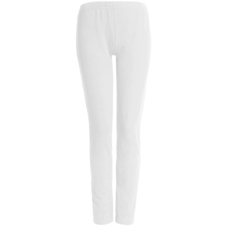Tribal Sportswear Leggings - Stretch Cotton (For Women) in White