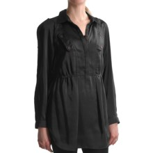 Tribal Sportswear Long Tunic Shirt - Long Sleeve (For Women) in Black