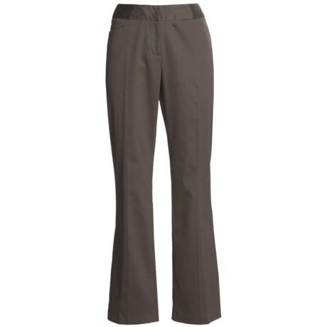 Tribal Sportswear Pinstripe Pants (For Women) in Mocha