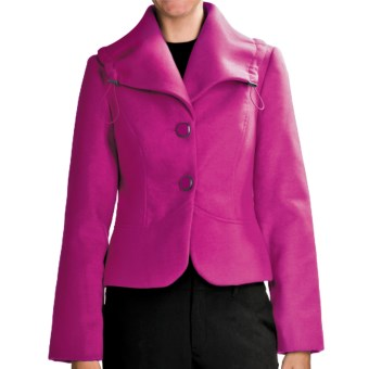 Tribal Sportswear Portrait Collar Jacket (For Women) in Orchid