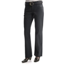 Tribal Sportswear Subtle Stripe Pants - 5-Pocket (For Women) in Black