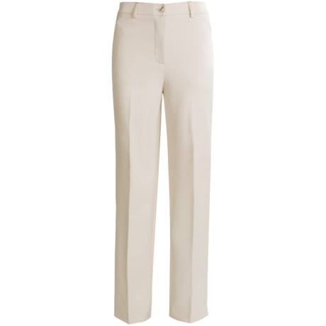 Tribal Sportswear Tapered Leg Pants - Stretch Cotton (For Women) in Cement