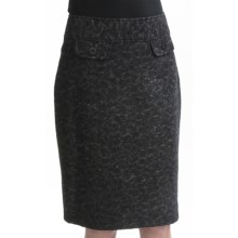 Tribal Sportswear Wool-Blend Skirt (For Women) in Charcoal