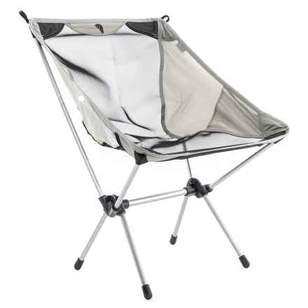Tribe Provisions Adventure Camping Chair in Black/ Grey - Closeouts