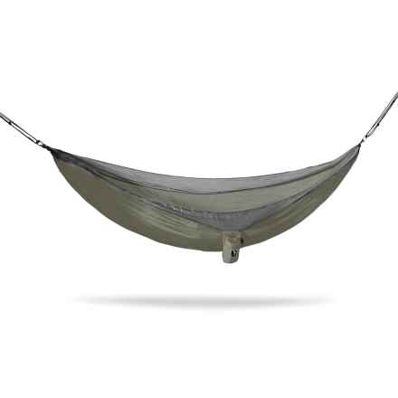 Tribe Provisions Adventure Single-Person Hammock in Olive - Closeouts