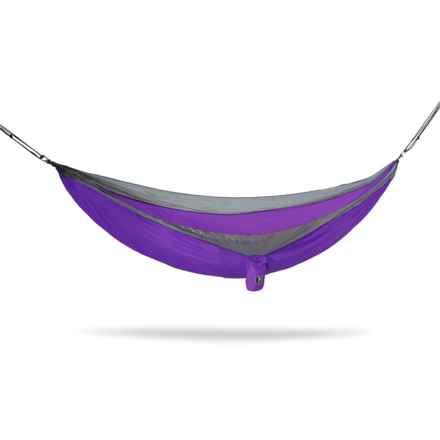 Tribe Provisions Adventure Single-Person Hammock in Purple - Closeouts